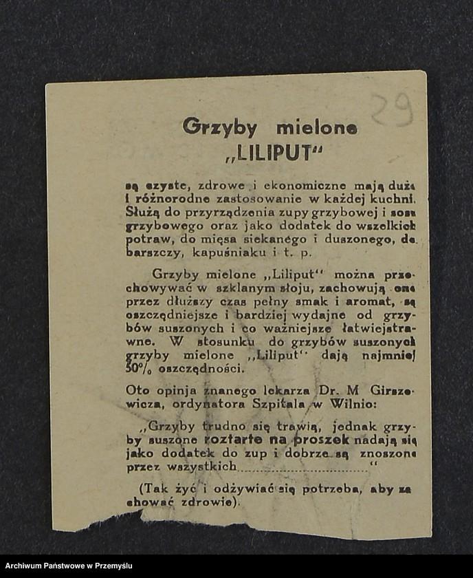 """Obraz 11 z kolekcji """"Przepisy kulinarne z kalendarza z 1935 roku"""""""