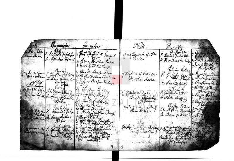 """Obraz 6 z kolekcji """"Najstarsze księgi metrykalne w zasobie AP w Koszalinie"""""""