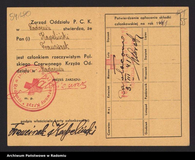 """image.from.collection.number """"Polskie Towarzystwo Czerwonego Krzyża/Polski Czerwony Krzyż"""""""