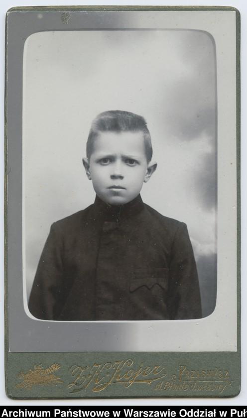 """Obraz 14 z kolekcji """"Chłopcy w niebieskich mundurkach... - uczniowie pułtuskiego Gimnazjum z okresu I wojny światowej"""""""
