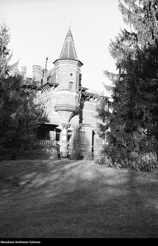Obiekt Fragment pałacu carskiego. z jednostki Białowieża