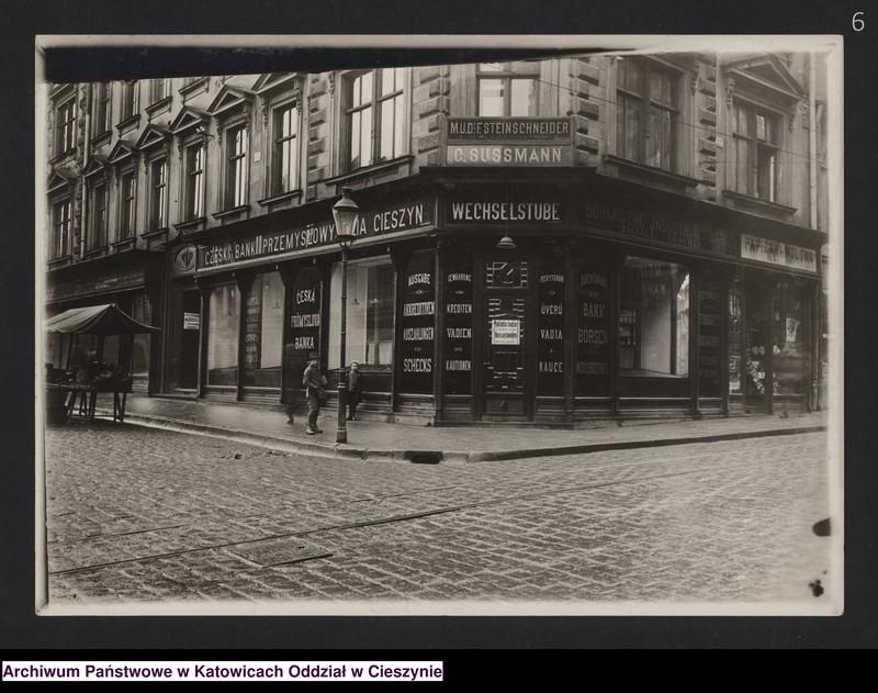 """Obraz 4 z kolekcji """"Fotografie Cieszyna z okresu 1918-1920"""""""