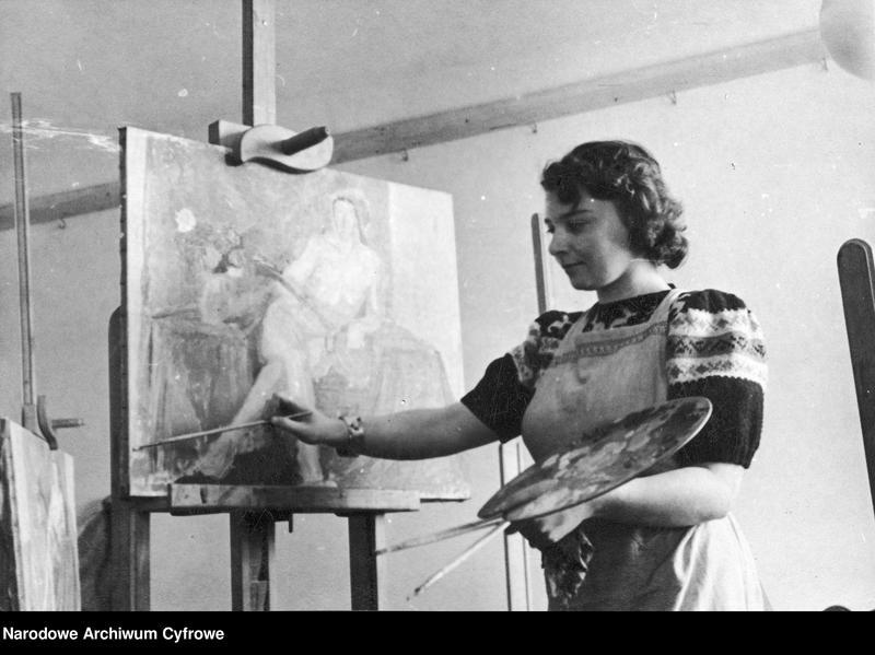 """Obraz 5 z kolekcji """"Moda damska lata 1940"""""""