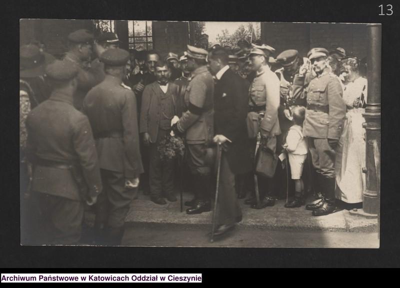 """Obraz 7 z kolekcji """"Fotografie Cieszyna z okresu 1918-1920"""""""