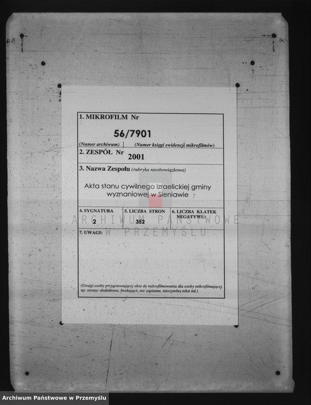 """Obraz z jednostki """"Księga metryki urodzin. Tom II"""""""