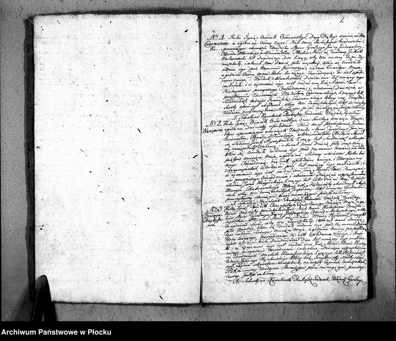 """Obraz z jednostki """"Akta urodzeń, małżeństw i zgonów"""""""