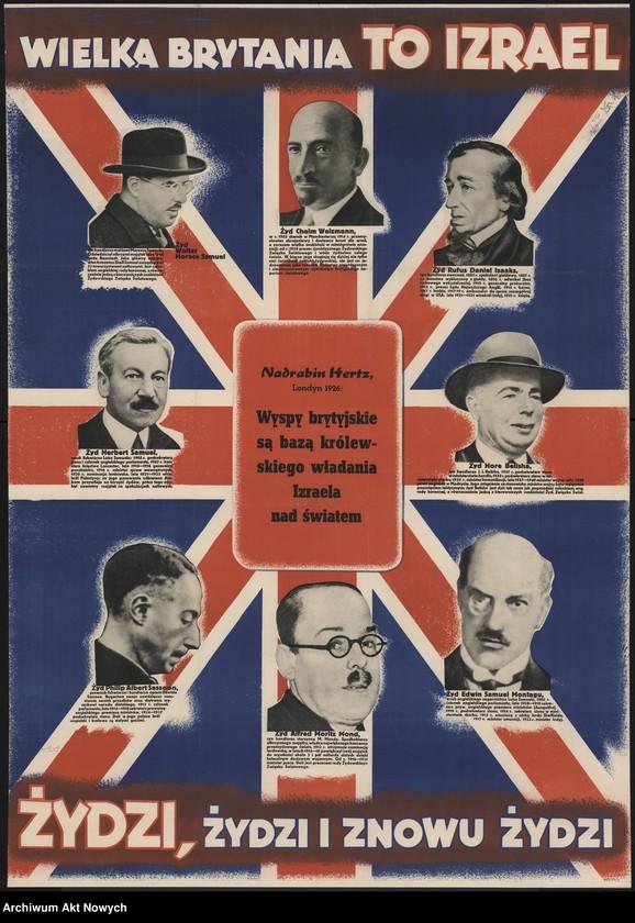 """Obraz 1 z kolekcji """"Propaganda niemiecka z okresu II wojny światowej."""""""