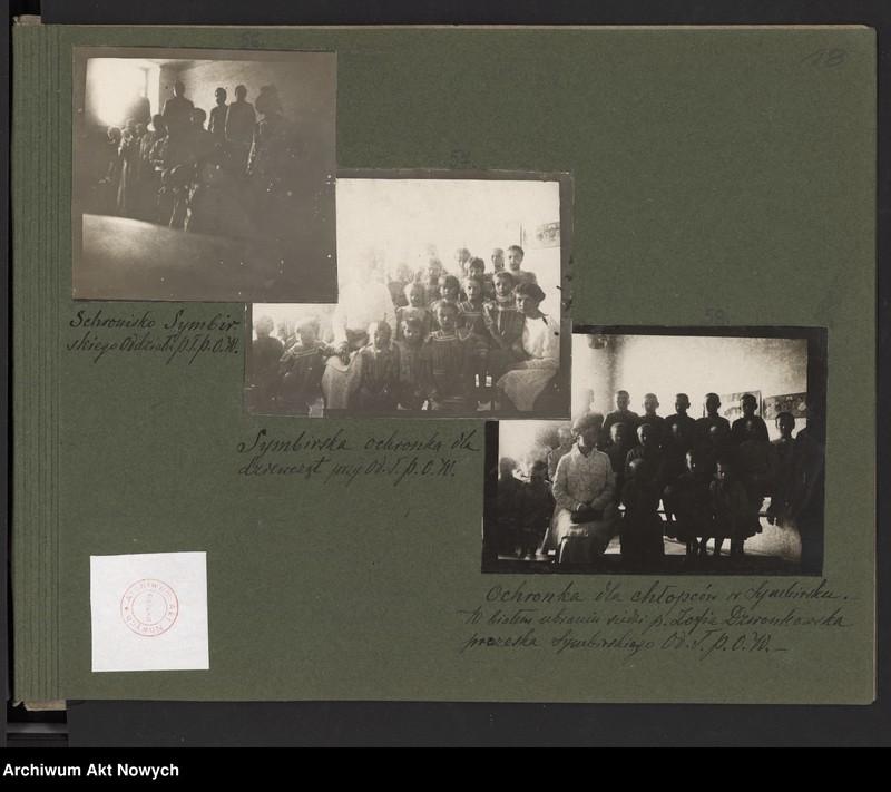 """Obraz 13 z kolekcji """"Album """"Szlakami wygnańców"""" 1915-1916"""""""
