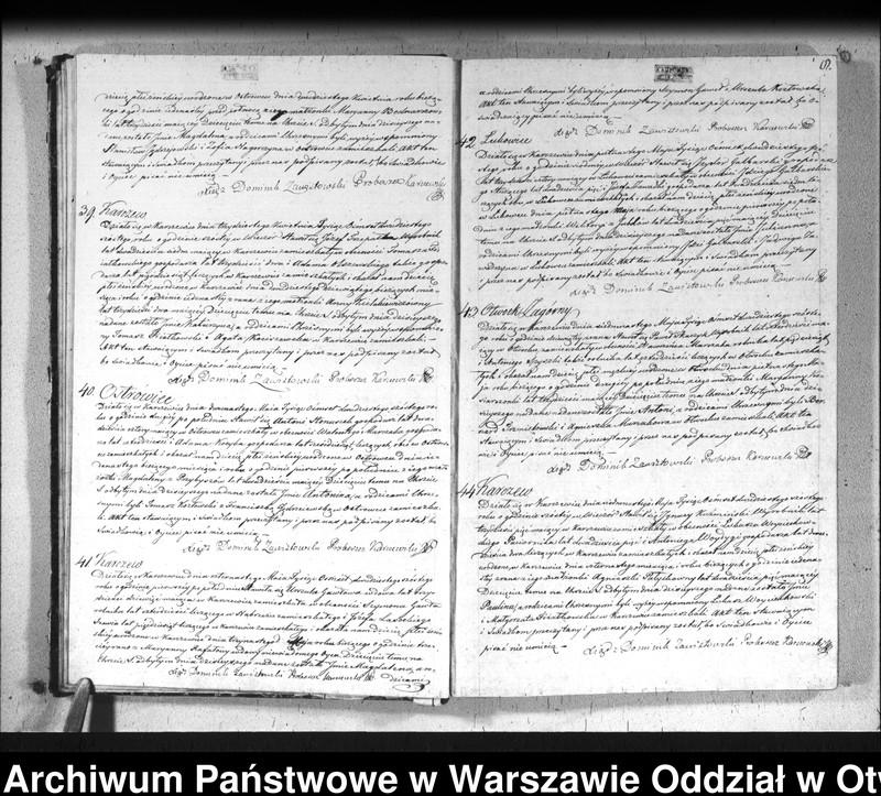 """Obraz 11 z jednostki """"Akta urodzeń, małżeństw i zgonów"""""""