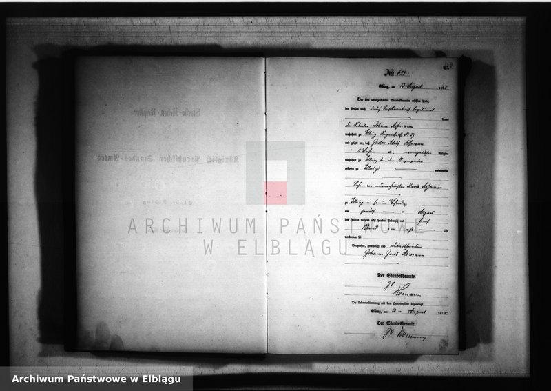"""Obraz z jednostki """"Księga zgonów 1875 rok"""""""