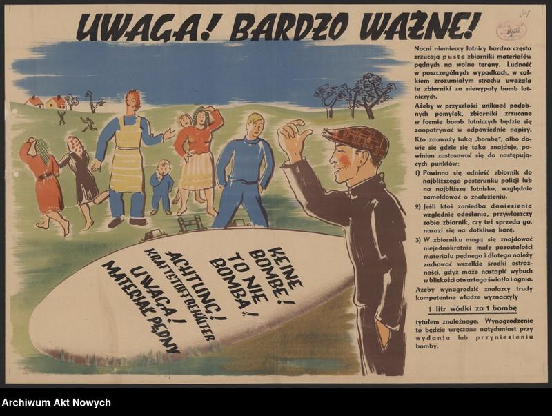 """Obraz 7 z kolekcji """"Propaganda niemiecka z okresu II wojny światowej."""""""