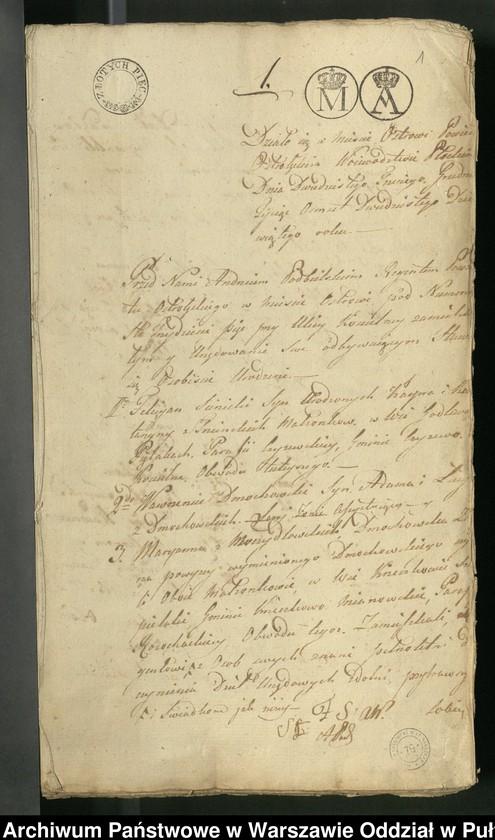 """Obraz z jednostki """"Akty notarialne nr 1-199"""""""