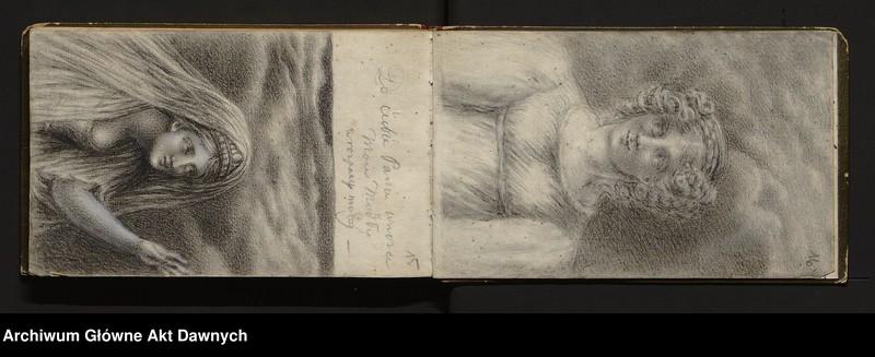 """Obraz 14 z jednostki """"Sztambuchy, rysunki, nuty."""""""