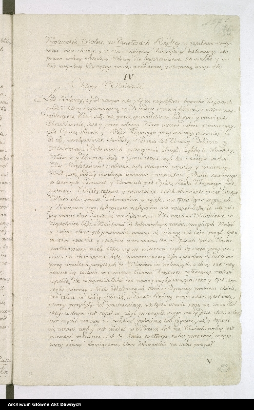 """Obraz 4 z kolekcji """"Oryginał Konstytucji 3 maja"""""""