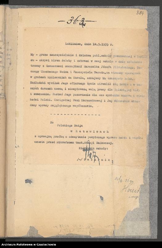 """Obraz 15 z kolekcji """"85 rocznica śmierci Józefa Piłsudskiego"""""""