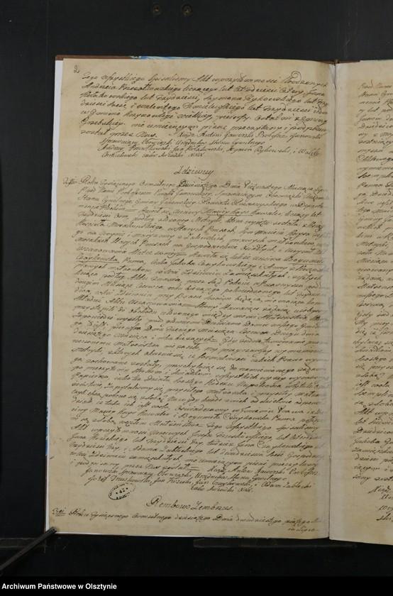 """image.from.unit """"Akta Małzenstw Gminy Janowskiey w Departamencie Płockim Powiecie Przasnyskim Spisane 1810/11"""""""