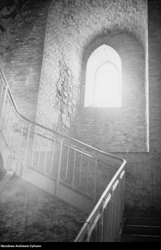 Obiekt Schody wewnątrz zabudowań klasztornych. z jednostki Częstochowa