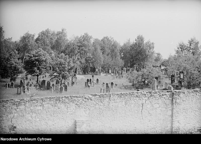 Obiekt Cmentarz żydowski. z jednostki Częstochowa