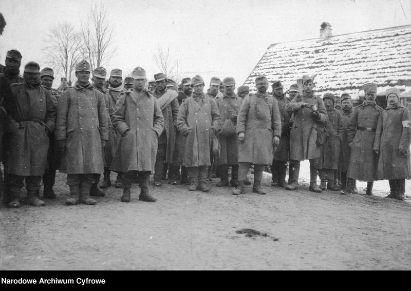 """Obraz 1 z jednostki """"Jeńcy austro-węgierscy w niewoli rosyjskiej w Galicji lub na Słowacji"""""""