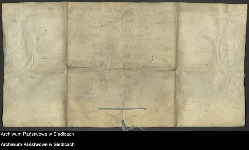 """Obraz 2 z kolekcji """"Dokumenty pergaminowe"""""""