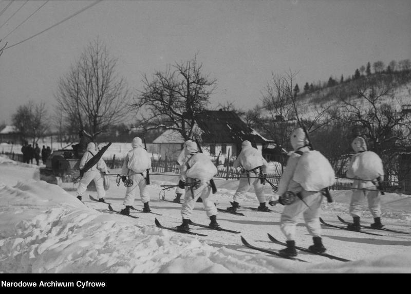 """Obraz 4 z jednostki """"Zimowe ćwiczenia pod Kołomyją"""""""