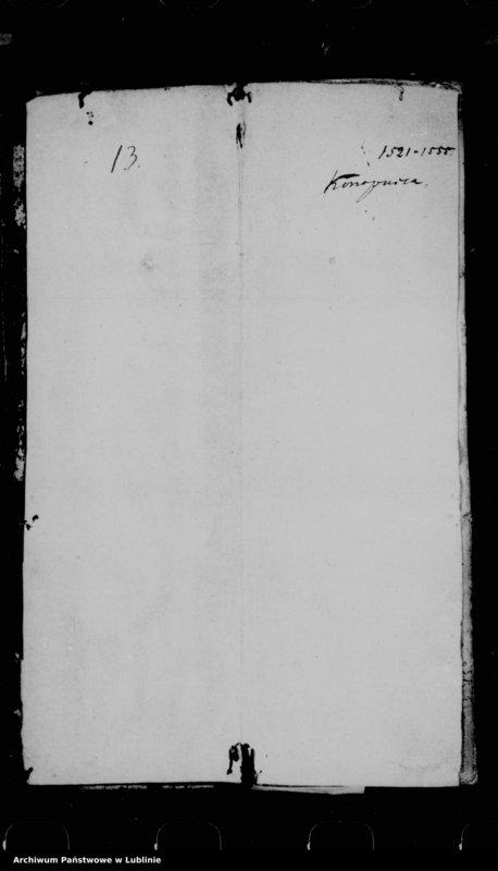 "Obraz 3 z jednostki ""Acta seu liber inscriptionum villae Conopnicza --"""