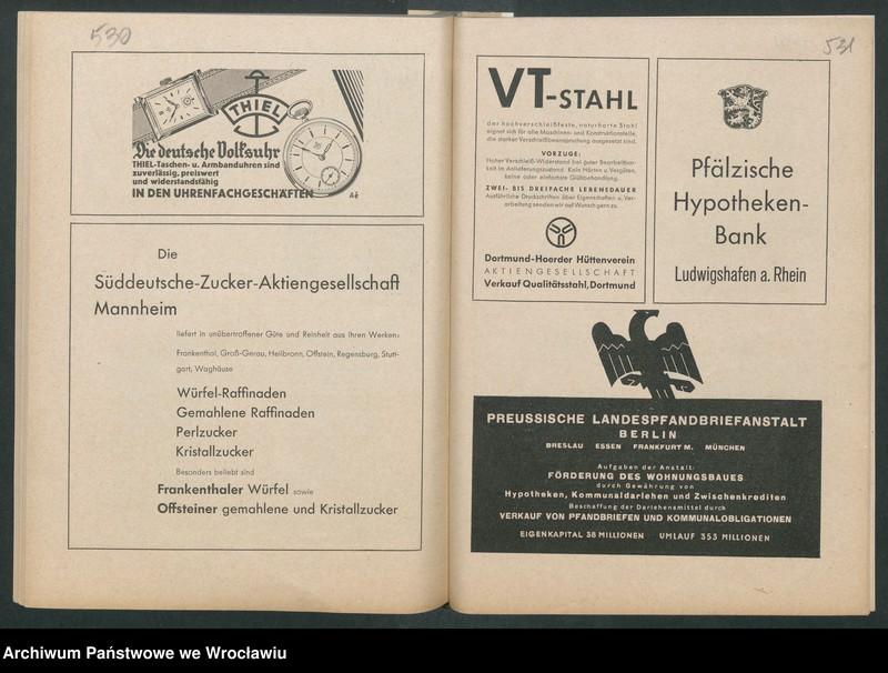 """Obraz 8 z kolekcji """"Reklamy znanych marek w roczniku """"Unsere Saar"""" z 1935 roku"""""""
