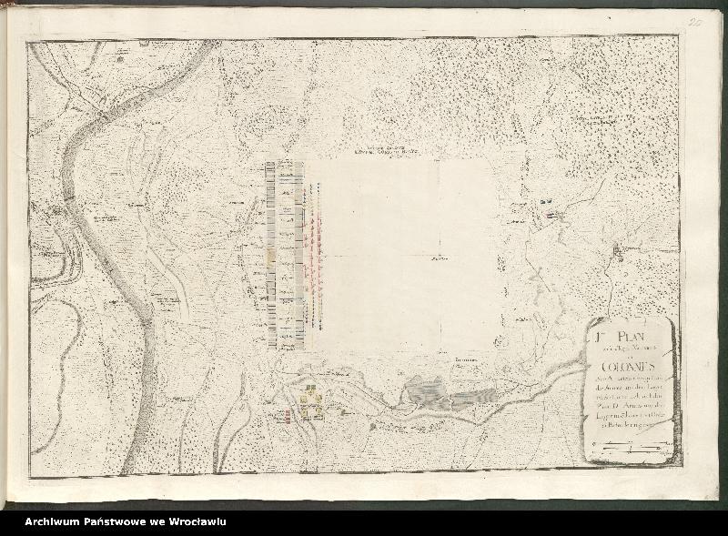 """Obraz 14 z kolekcji """"Obóz wojsk polskich i saksońskich pod Radewitz, 1730"""""""