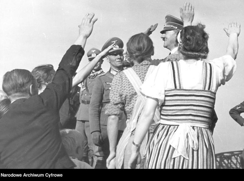 "Obraz 1 z jednostki ""Adolf Hitler wśród volksdeutschów"""