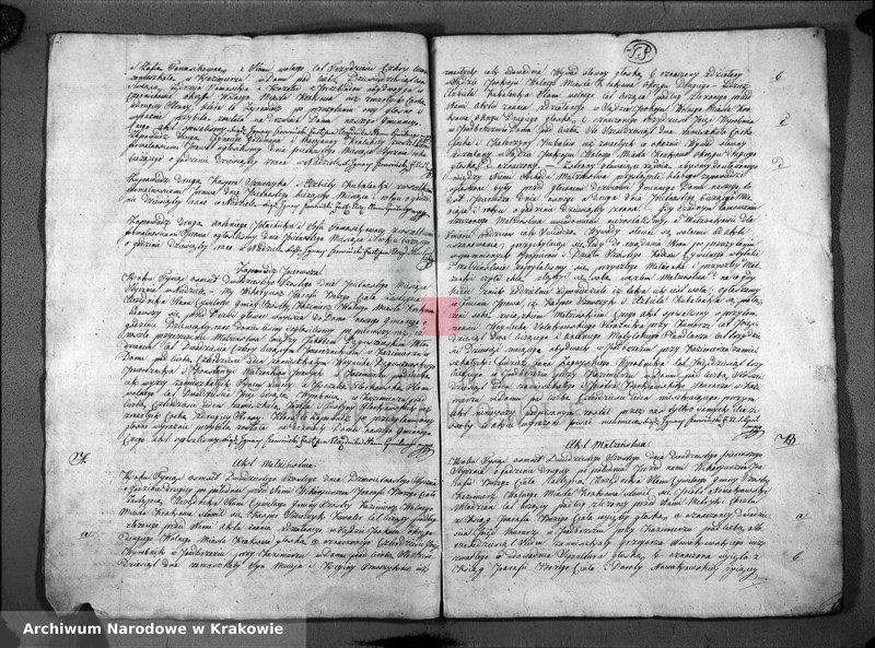 """Obraz z jednostki """"Ksiązka Aktów Zapowiedzi i Małżeństw dla Parafii Bozego Ciała na Rok 1826"""""""