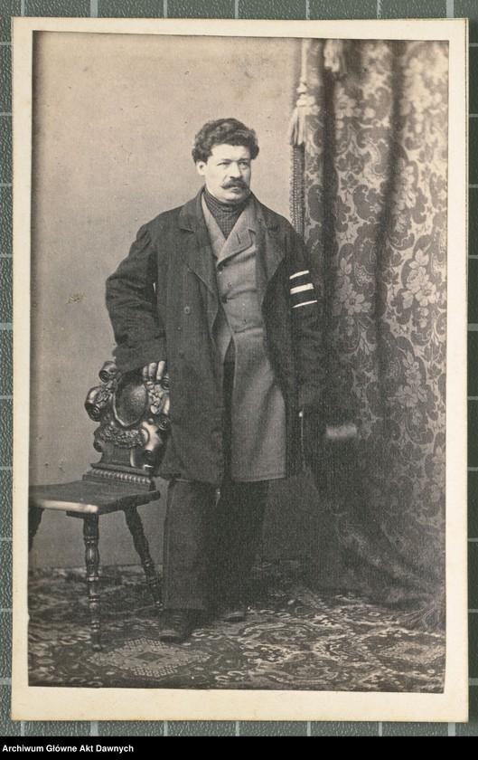 """Obraz 7 z kolekcji """"Fotografie członków Delegacji Miejskiej z 1861 roku"""""""