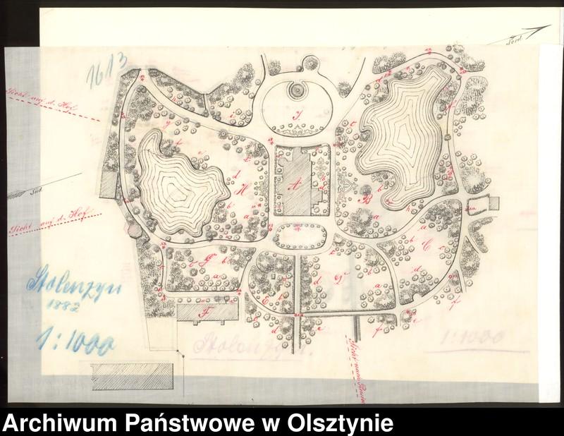 """Obraz 13 z kolekcji """"Zbiór planów Johannesa, Georga i Ernsta Larass"""""""