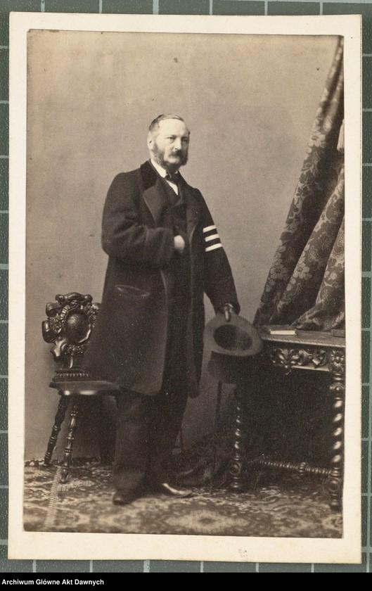 """Obraz 4 z kolekcji """"Fotografie członków Delegacji Miejskiej z 1861 roku"""""""