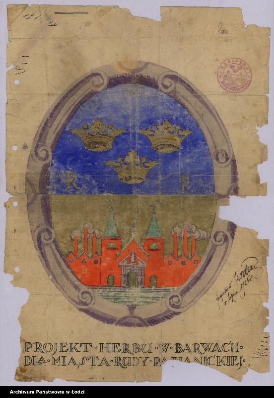 """Obraz 16 z kolekcji """"Herby miejskie"""""""