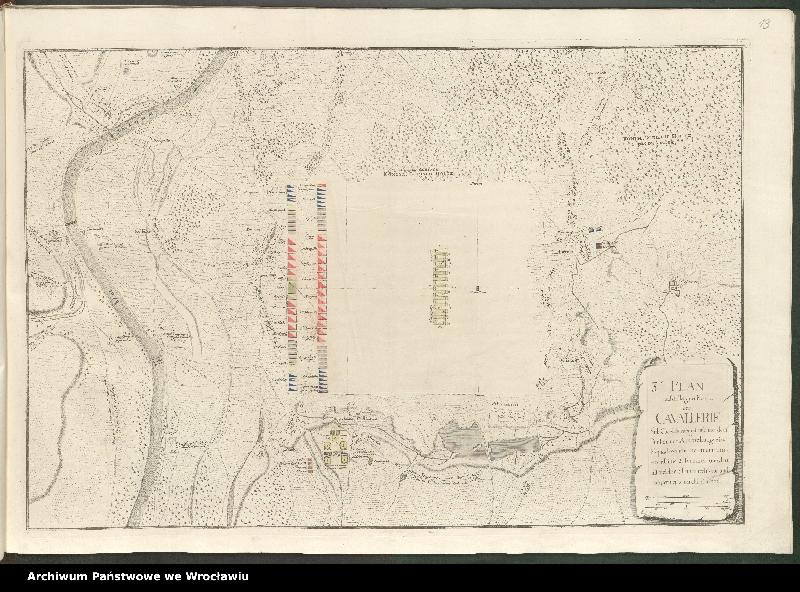 """Obraz 8 z kolekcji """"Obóz wojsk polskich i saksońskich pod Radewitz, 1730"""""""