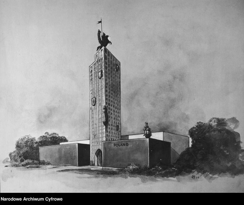 """Obraz 4 z kolekcji """"Pawilon Polski na Wystawie Światowej w Nowym Jorku"""""""