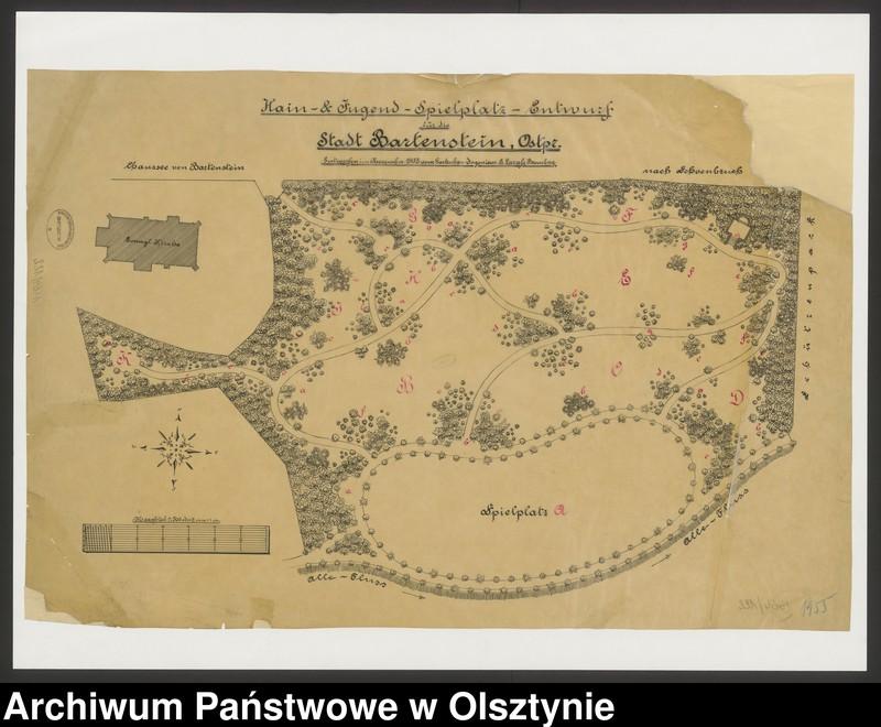 """Obraz z jednostki """"Hain-und Jugend-Spielplatz-Entwurf Stadt Bartenstein"""""""