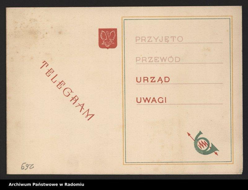 """Obraz 6 z kolekcji """"Archiwalny przegląd pocztowy"""""""