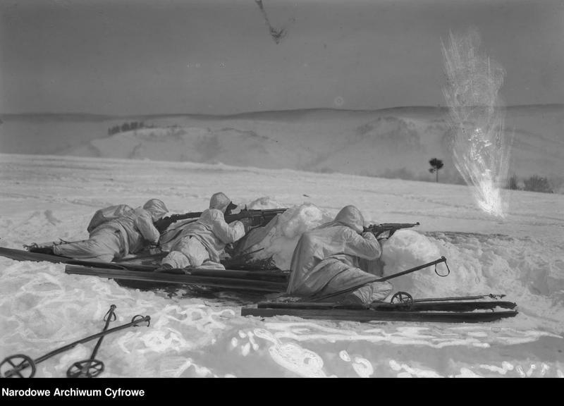 """Obraz 1 z jednostki """"Zimowe ćwiczenia pod Kołomyją"""""""