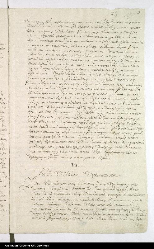 """Obraz 6 z kolekcji """"Oryginał Konstytucji 3 maja"""""""