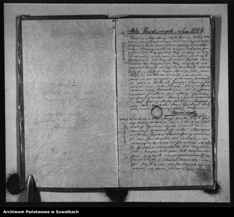 """image.from.unit """"Duplikat Sekty Filiponów gminy Hołny Wolmera z roku 1849"""""""