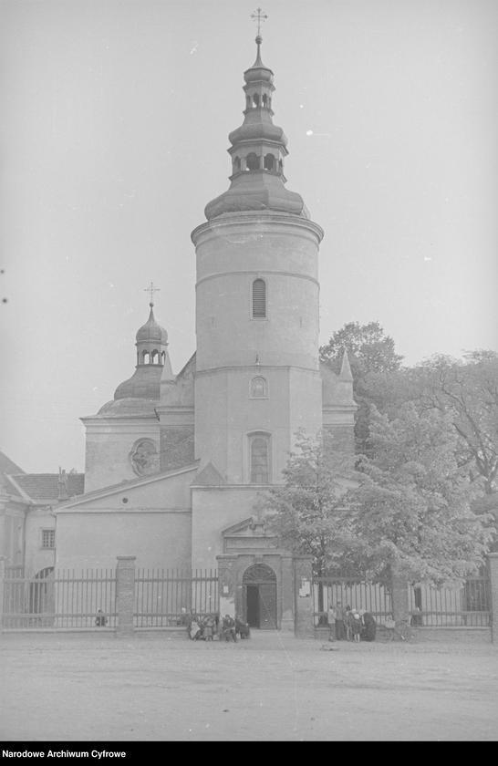 Obiekt Kościół św.Barbary - widok zewnętrzny. z jednostki Częstochowa