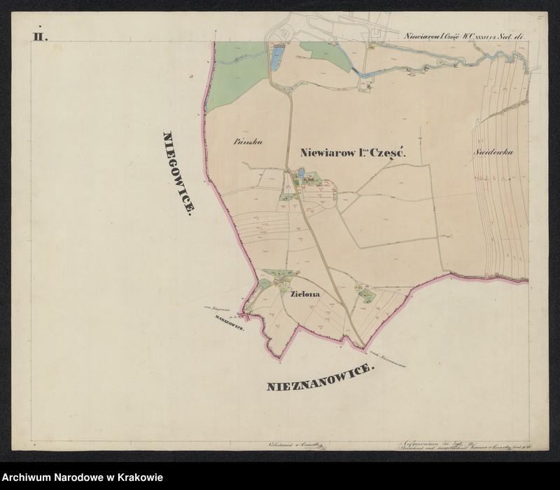 """Obraz 5 z jednostki """"195 Dorf Niewiarow [Niewiarów] I-sza część in Galizien Bochnier Kreis"""""""