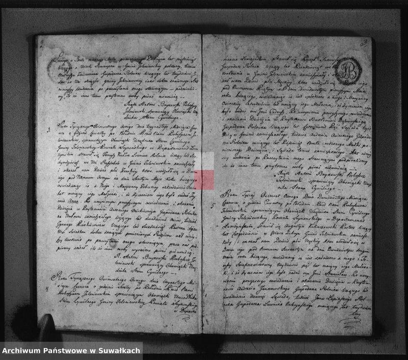 """image.from.unit """"Akta Urodzenia Gminy Jeleniewskiey Roku 1808"""""""