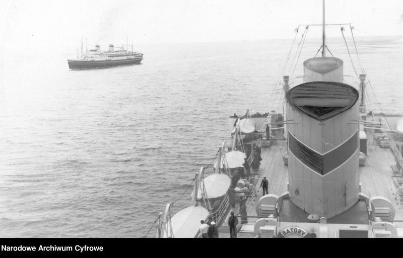 """Obraz 1 z jednostki """"Zdjęcia wykonane podczas rejsu statku m/s """"Batory"""""""""""