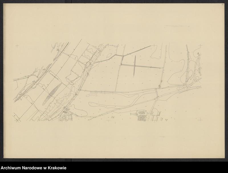 """Obraz 11 z jednostki """"[Kraków (część) Plan sytuacyjno-warstwicowy sprzed 1908 (kolej obwod.) po 1903 r.]"""""""