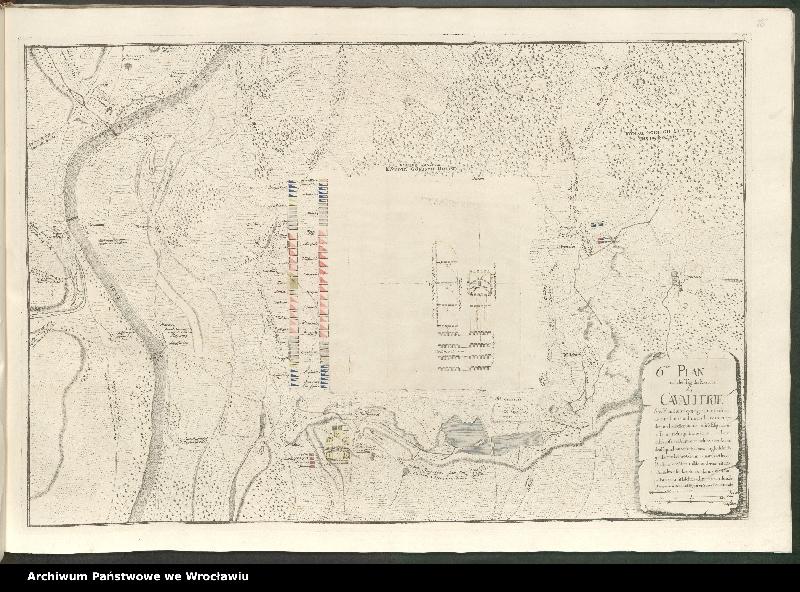 """Obraz 11 z kolekcji """"Obóz wojsk polskich i saksońskich pod Radewitz, 1730"""""""