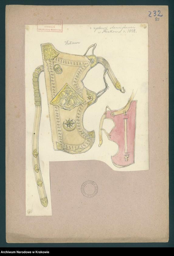 """Obraz 8 z kolekcji """"Militaria, mundury i elementy uzbrojenia w zbiorze Zygmunta Glogera"""""""