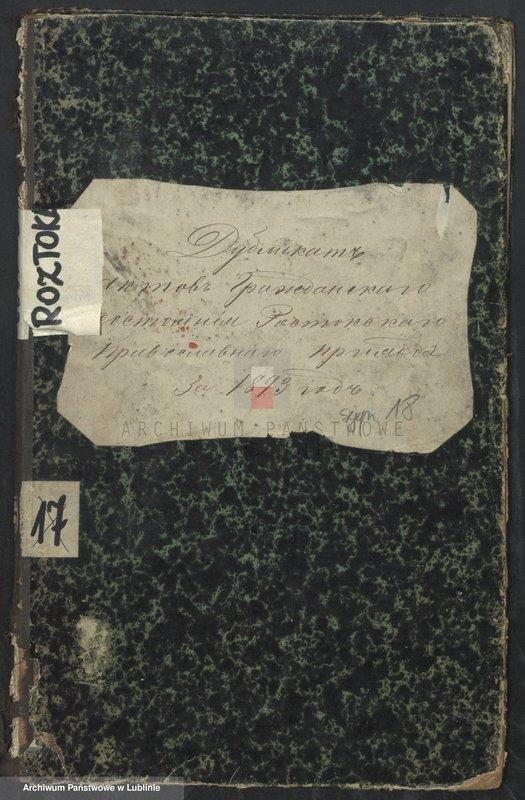 """Obraz 3 z jednostki """"Księga urodzeń, małżeństw i zgonów"""""""