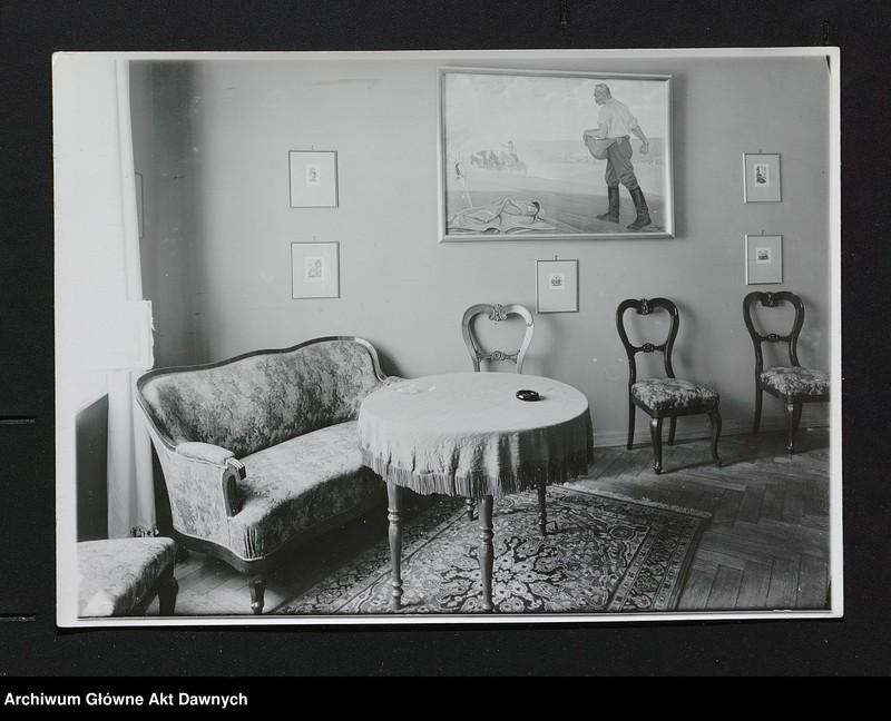 """Obraz 4 z jednostki """"Zbiór fotografii.  Zbiór fotografii przedstawiających Józefa Piłsudskiego, osobistości legionowe, pałac belwederski oraz fotokopie pism J.Piłsudskiego"""""""
